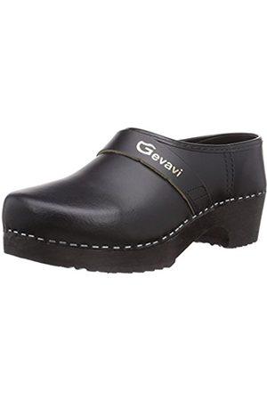 Gevavi Unisex Adults' 900 SCHOENKLOMP zwart Clogs Size: UK 4