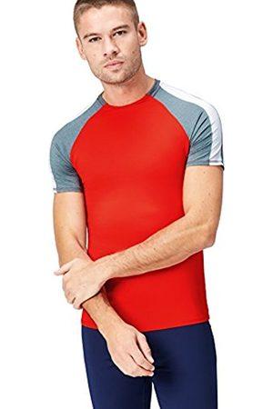 FIND Men's Colour Block Sports T-Shirt
