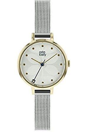 Orla Kiely Womens Analogue Classic Quartz Watch with Stainless Steel Strap OK4065