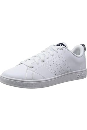 adidas Advantage Clean Vs, Men's Low-Top Sneakers, (Ftwr /Ftwr /Collegiate Navy)