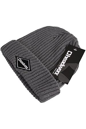 Headworx Men's Diamond Patch Beanie, (Smoke )