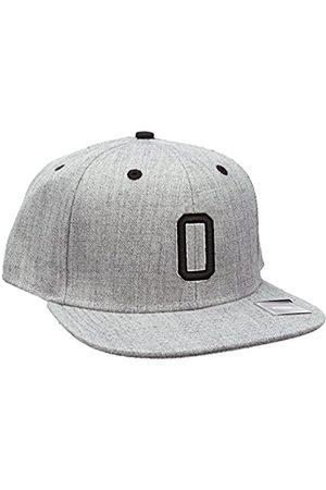 MSTRDS Letter Snapback O Baseball Cap, -Grau (O 1180,4630)