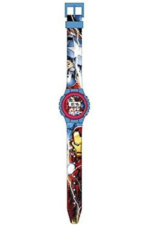 Marvel Unisex-Child Digital Watch with Plastic Strap MV15185