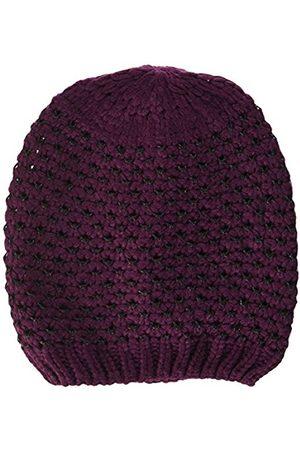 maximo Girl's Beanie Mit Lurex, Violett Hat