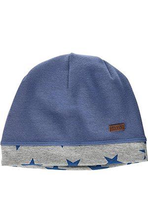 maximo Boy's Beanie Sterne Hat, Blau (Denim-Sterne 40)