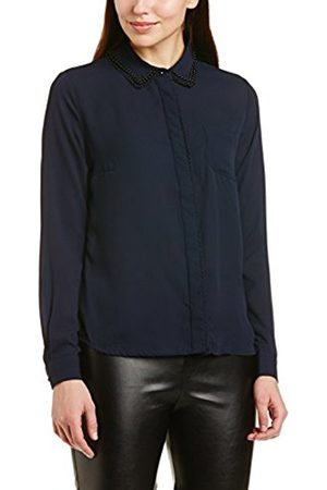Darling Women's Wendy Shirt Button Front Long Sleeve Blouse