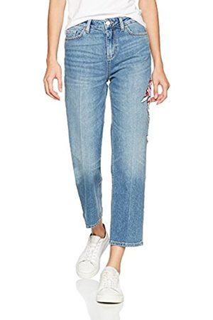 Tommy Hilfiger Women's Slim Straight HW Cropped Vivian Bootcut Jeans