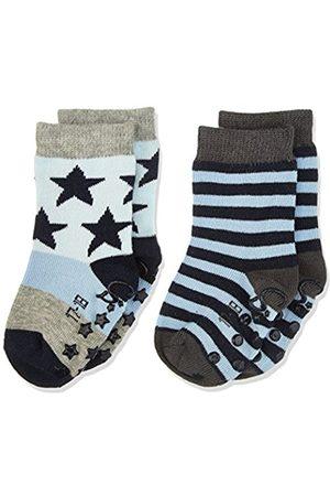 Sterntaler Baby Boys' Abs-Söckchen DP Sterne/Ringel Calf Socks