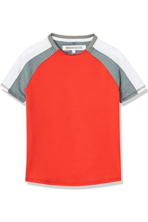 RED WAGON Boy's Colour Block Sports Shirt