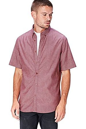 FIND Men's Dobby Print Casual Shirt