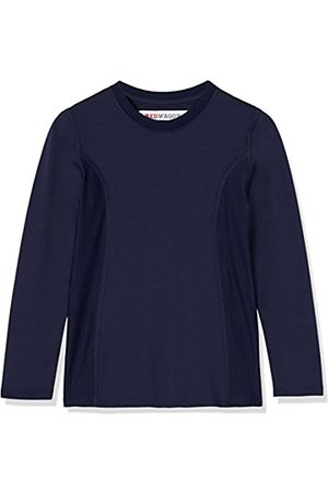 RED WAGON Boy's Long Sleeve Breathable Mesh Panel Sports Shirt