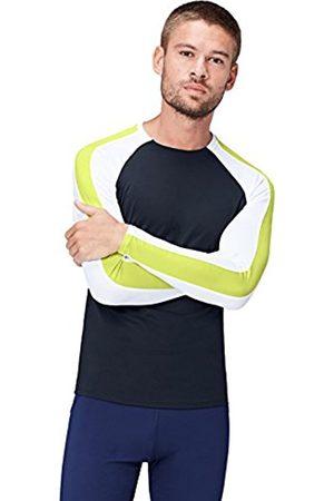 FIND Men's Long Sleeve Colour Block Sport Top