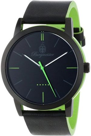 Burgmeister Ibiza Men's Quartz Watch with Dial Analogue Display and Leather Strap BM523-620A-1