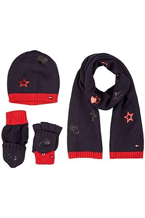 Tommy Hilfiger Men's New Born Boy Poppy Giftpack Scarf, Hat and Glove Set
