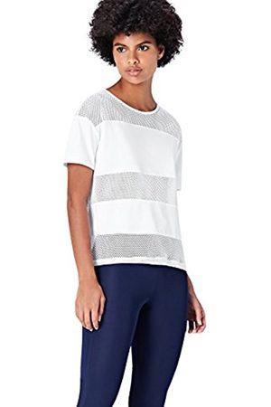 FIND Women's Mesh Striped Sport Shirt