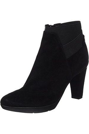 Women's D Inspiration Stiv B Goat Suede Ankle Boots, (Blackc9999)