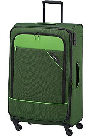 Elite Models' Fashion DERBY 4-Rad Trolley L erweiterbar, Grün, 87549-80 Hand Luggage, 77 cm