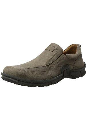 Josef Seibel Men's SMU-Willow 18 Loafers Grey Size: 9 UK
