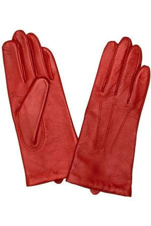 Dents Classic Smooth Grain Women's Gloves Chilli Size 7