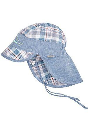 Sterntaler Baby Boys' Schirmmütze m Nackenschutz Hat