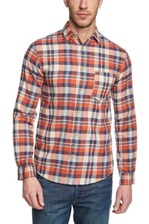 Jack & Jones Jack and Jones Men's Castleford One Regular Fit Button Down Long Sleeve Casual Shirt