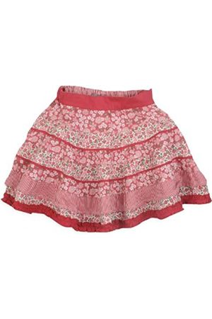 Pumpkin Patch Baby Girl's Below Knee Multi-Print Panelled Skirt Spiced Coral 24 Months