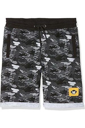 Ben & Lea Boy's Largu Shorts, (Grau Camouflage)
