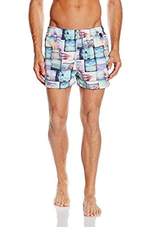 Hom Men's Swim Shorts - Multicoloured - X-large