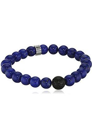"""Thomas Sabo Bracelet """"Royal Blue"""" Zirconia/Obsidian/Simulated Lapis Lazuli of Adjustable Length 17cm"""