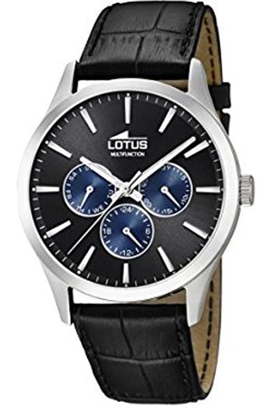 Lotus Mens Multi dial Quartz Leather Strap 18576/6