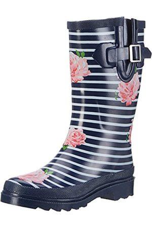 Beck Ladies Stripes Wellies