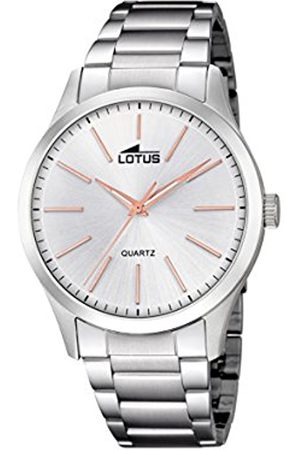 Lotus Mens Analogue Classic Quartz Watch with Stainless Steel Strap 15959/5