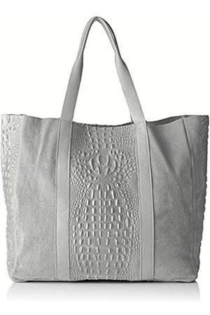 Chicca borse 80043, Women's Top-Handle Bag, Grigio