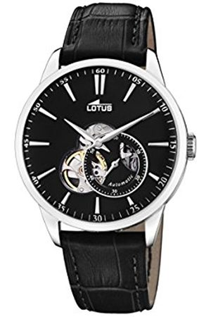 Lotus Mens Analogue Classic Automatic Watch with Leather Strap 18536/4