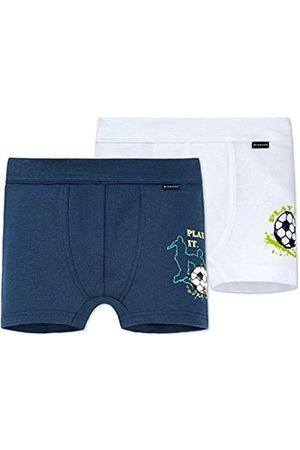 Schiesser Boy's Multipack 2pack Hip Shorts Underwear Set