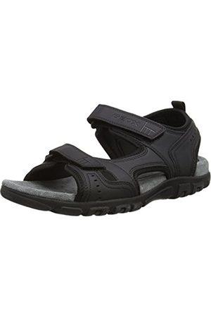Geox Men's Strada A Platform Sandals, )