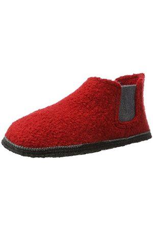 Kitz - Pichler Kitz-Pichler Unisex Adults' Hütten Chelsea Hi-Top Slippers red Size: 8 UK