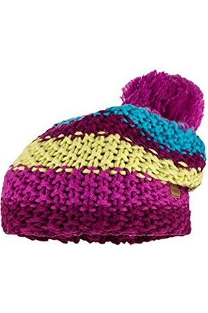 maximo Girl's 53573-729000 Hat, Multicoloured-Mehrfarbig (Aster/Citronelle 3268)