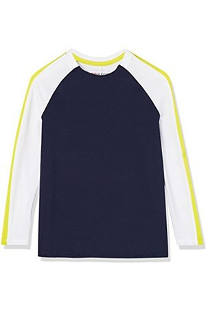 RED WAGON Boy's Long Sleeve Colour Block Sports Shirt