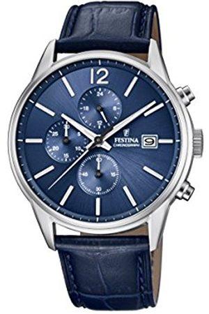 Festina Men's Chronograph Quartz Watch with Leather Strap F20284/3