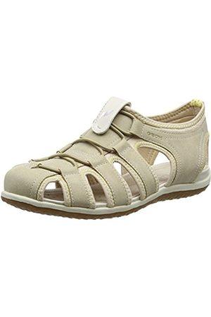 Geox D Sandal Vega D, Women's Wedge Heels Sandals (Beigec5016)