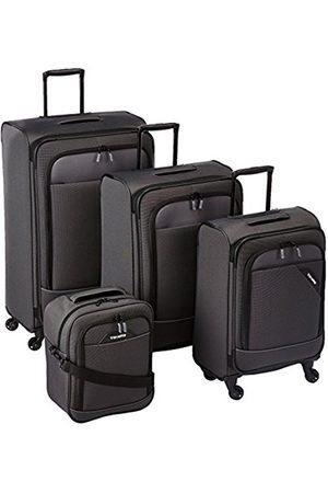 Elite Models' Fashion DERBY 4-tlg. Reisegepäckset, 4-Rad L/M erweiterbar/S, Bordtasche, 87540-04 Luggage Set, 77 cm, 230 liters