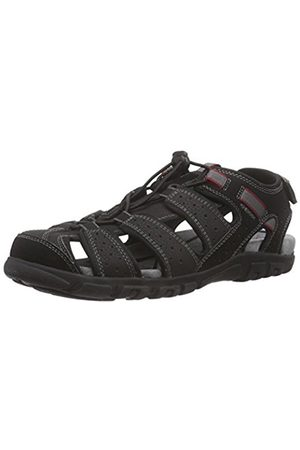 Geox Sandal Strada B, Men's Platform Sandals