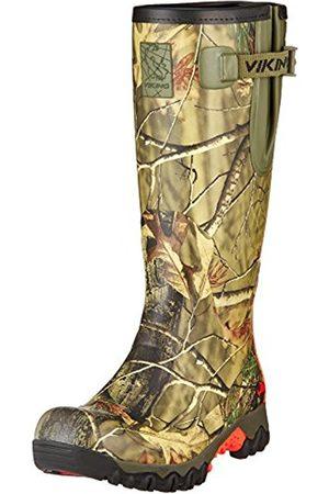 Viking Unisex Adults' Trophy Camo Rubber Boots Size: 12 UK
