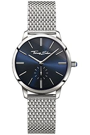 Thomas Sabo GLAM SPIRIT Women's Watches, Stainless Steel Mesh Bracelet Lapis Lazuli