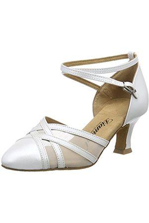 Diamant Women's Damen Tanzschuhe 147-068-391 Ballroom Dance Shoes Off-White Size: 9 UK