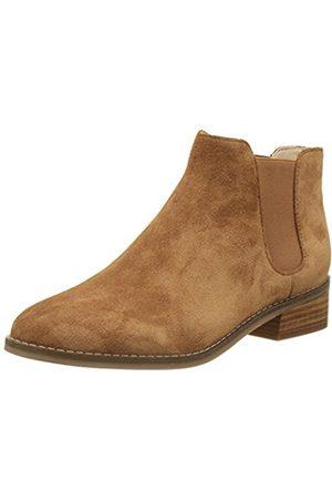Buffalo Women's 416-5201 Cow Suede Chelsea Boots