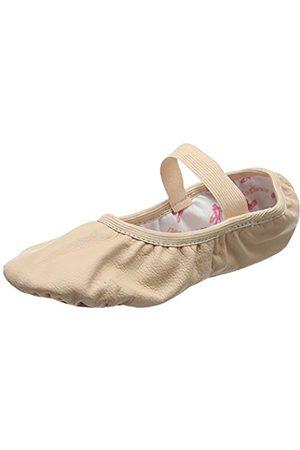 So Danca Women's Sd69 Ankle Strap Ballet Flats