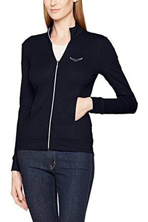 Trigema Women's Jacke MIT Swarovski Kristallen Cardigan