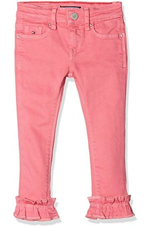 Tommy Hilfiger Girl's Nora RR Skinny 7/8 Ruffle Icst Jeans